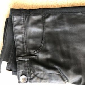 LEATHER (fake) pant